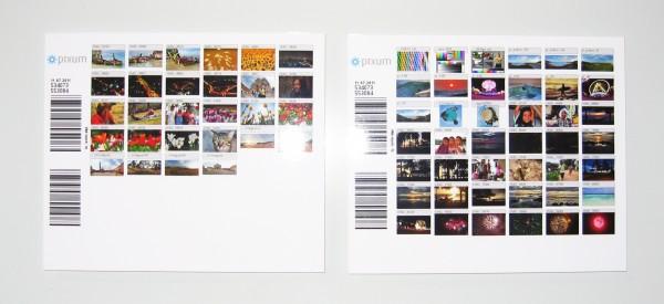 Index-Prints gibts bei Pixum gratis dazu