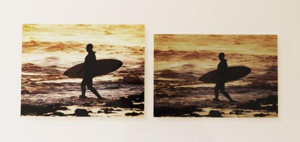 Fotoabzug von Photobox (links) gegenüber dem von Pixum