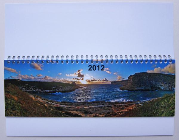 Das Deckblatt des Kalenders