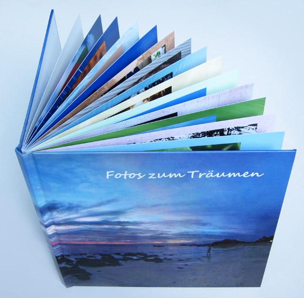 Quadratisches Fotobuch (groß) von Pixum auf Fotopapier