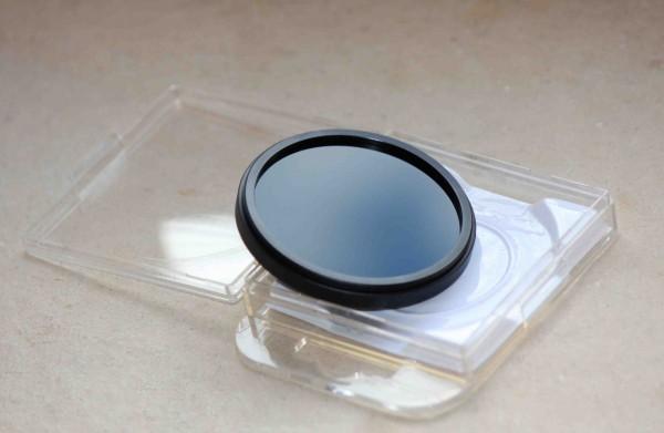 Der Graufilter verringert die Lichtmenge, die in die Kamera eintritt
