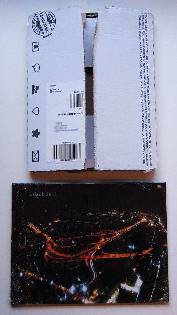 Die Lieferung von Photobox