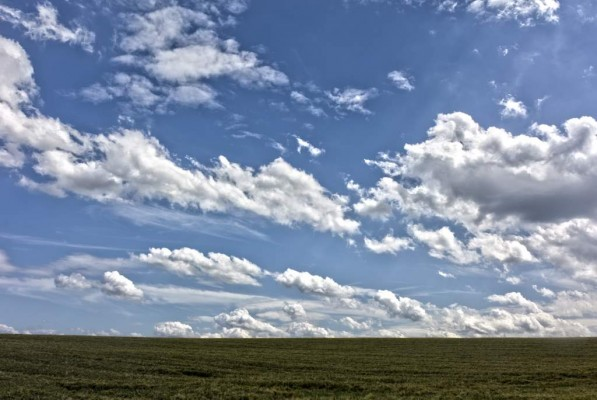Ein Himmelpanorama