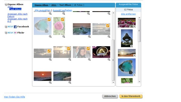 Fotos bestellen bei Snapfish