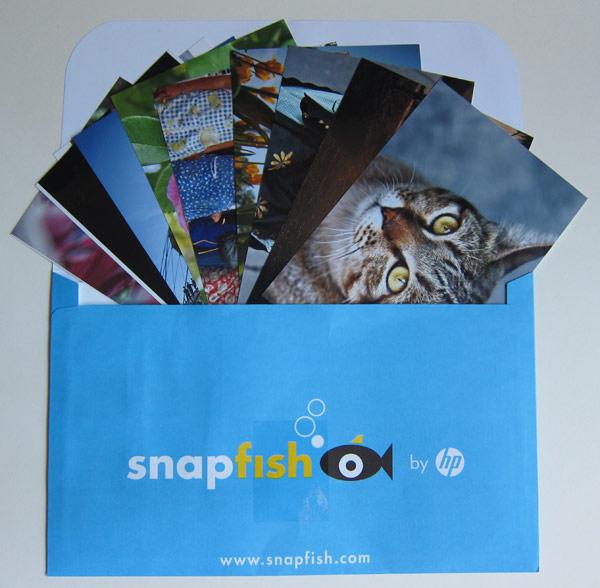 Fotoumschlag von Snapfish