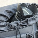 Eine dichte Kameratasche verhindert das eindringen von Staub und Sand